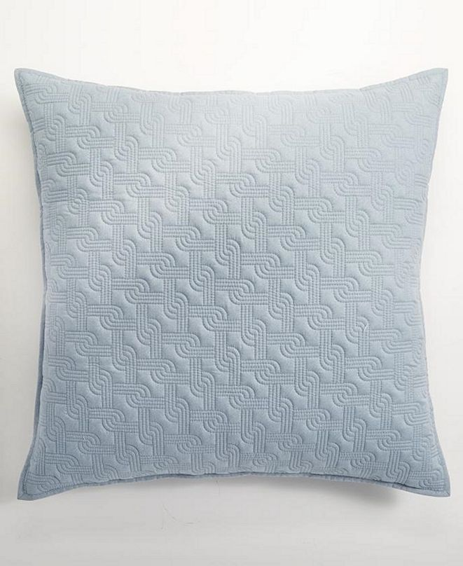Hotel Collection Parallel Quilted European Sham, Created for Macy's