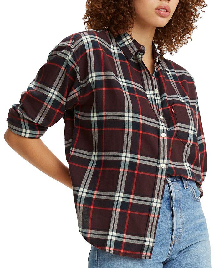 Levi's - Cotton Plaid Flannel Shirt