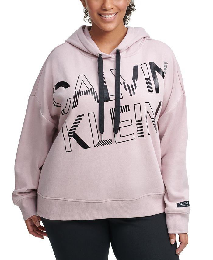 Calvin Klein - Plus Size Graphic Hooded Sweatshirt