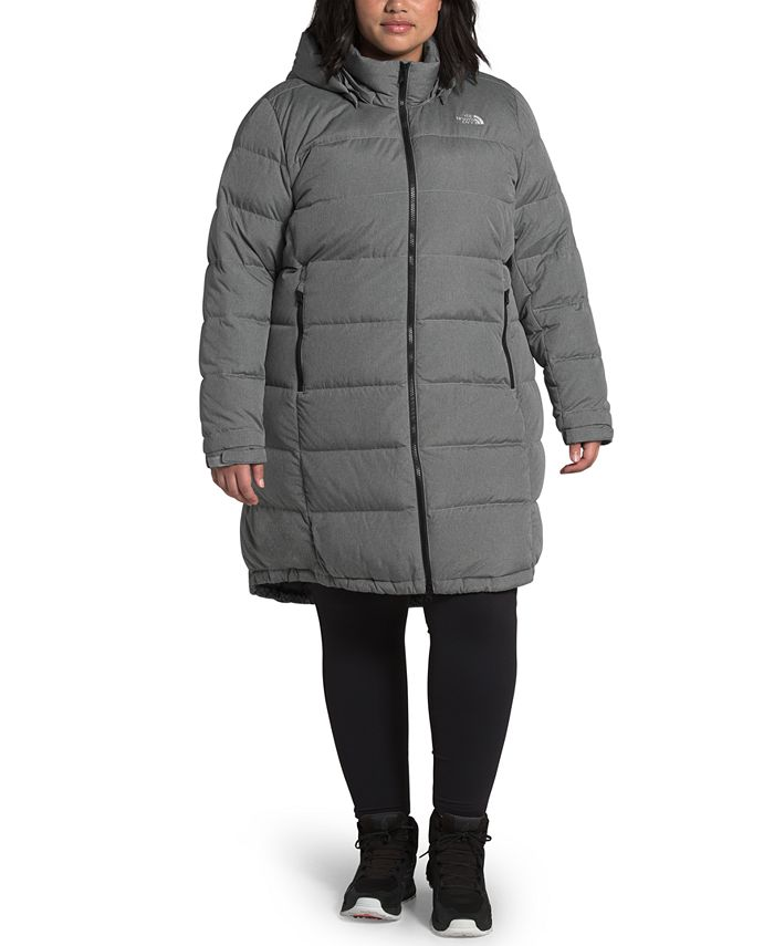 The North Face - Women's Plus Size Metropolis Hooded Parka III