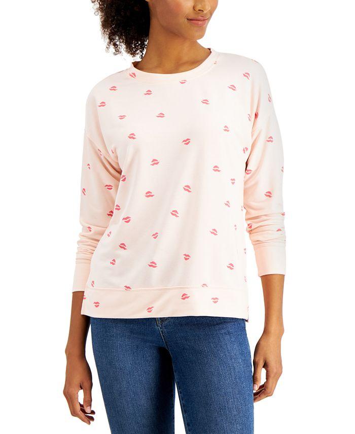Style & Co - Heart Kiss Sweatshirt
