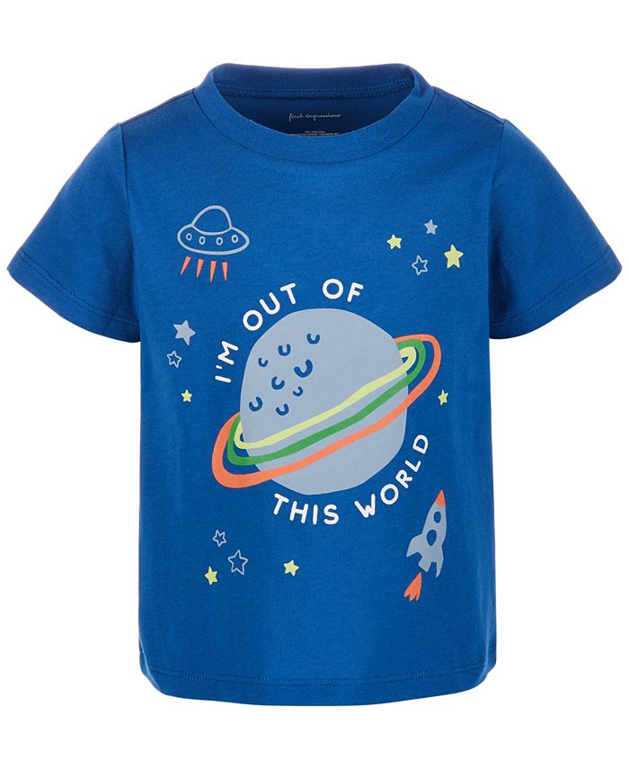 First Impressions - Baby Boys Out Of This World T-Shirt