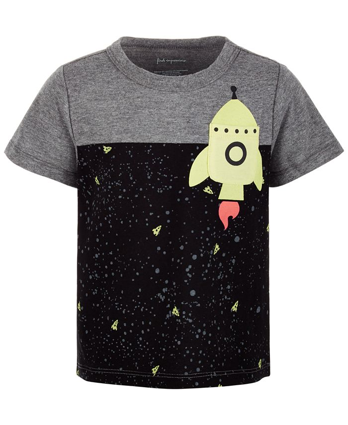 First Impressions - Baby Boys Rocket Pocket T-Shirt