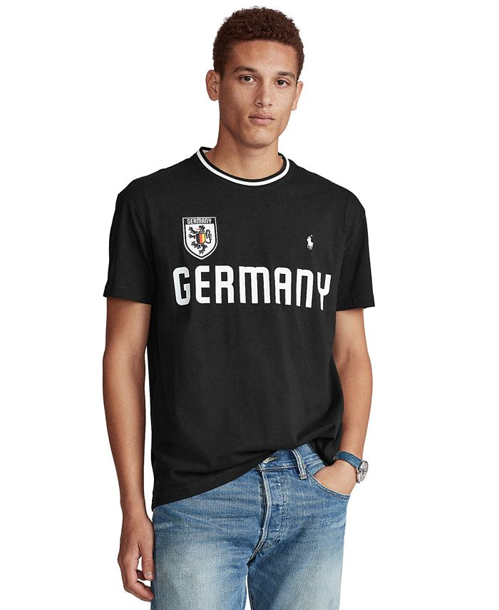 Polo Ralph Lauren Men's Classic-Fit Germany T-Shirt & Reviews - T ...