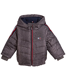 Tommy Hilfiger Baby Boys Crosby Signature Puffer Jacket