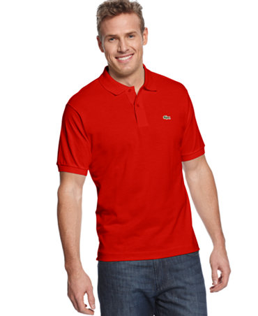 Lacoste Big And Tall Shirt Classic Pique Polo Shirt