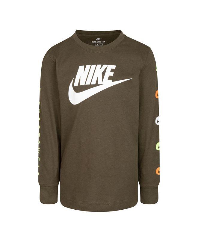 Nike Toddler Boys Logo Graphic T-Shirt
