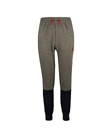 Jordan Big Boys Colorblock Fleece Pants