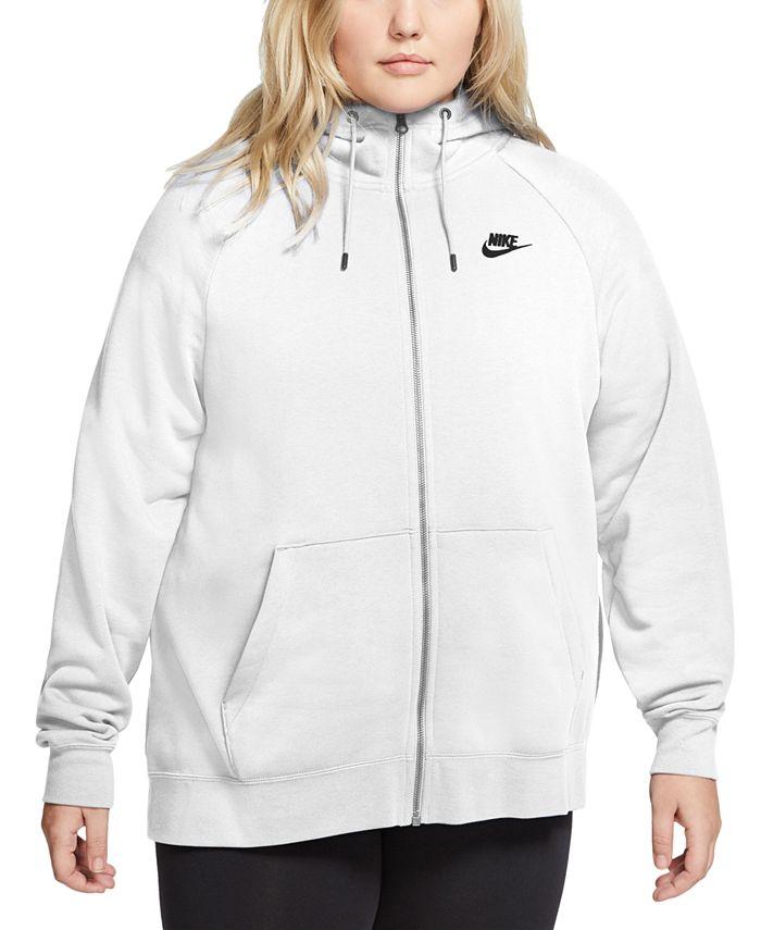 Nike - Sportswear Essential Plus Size Full-Zip Hoodie