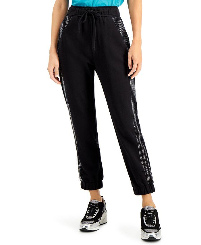 INC International Concepts - Micro-Studded Jogger Sweatpants