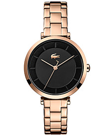 Lacoste Women's Geneva Carnation Gold Steel Bracelet Watch 32mm