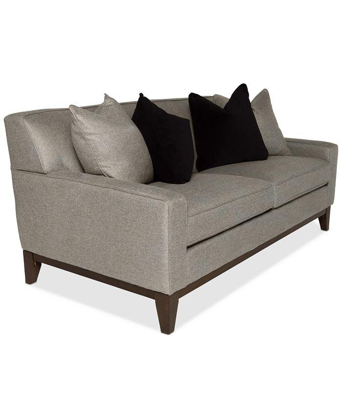 """Furniture - Effie 73"""" Apartment Fabric Sofa"""