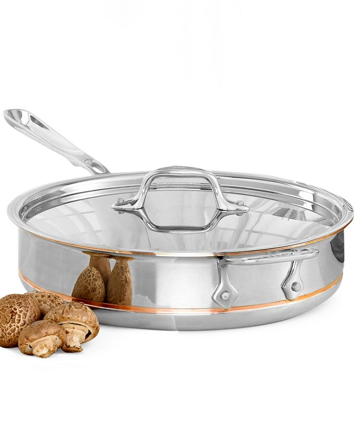 All-Clad - Copper Core 3-Quart Covered Sauté Pan