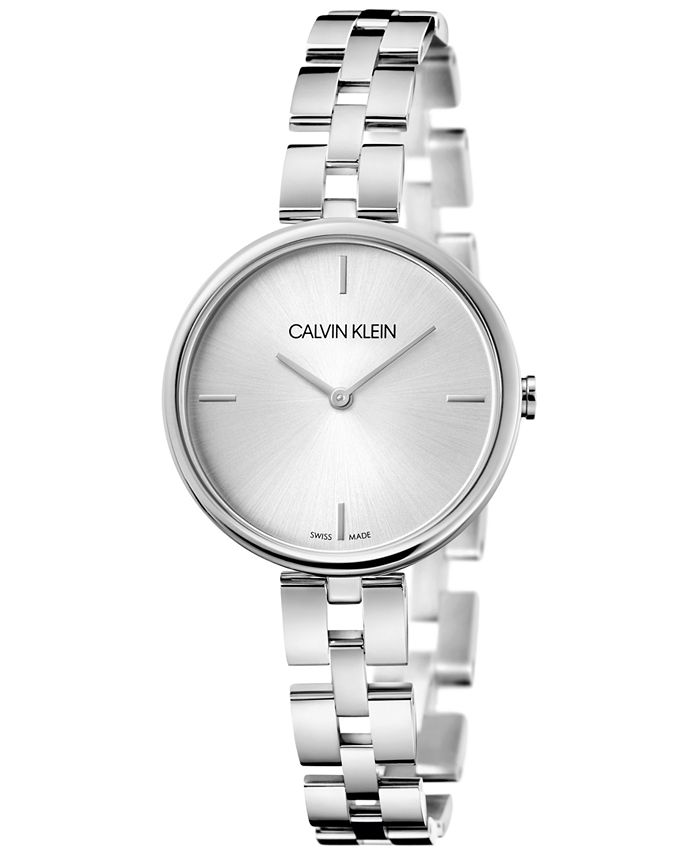 Calvin Klein - Women's Elegant Stainless Steel Bracelet Watch 32mm