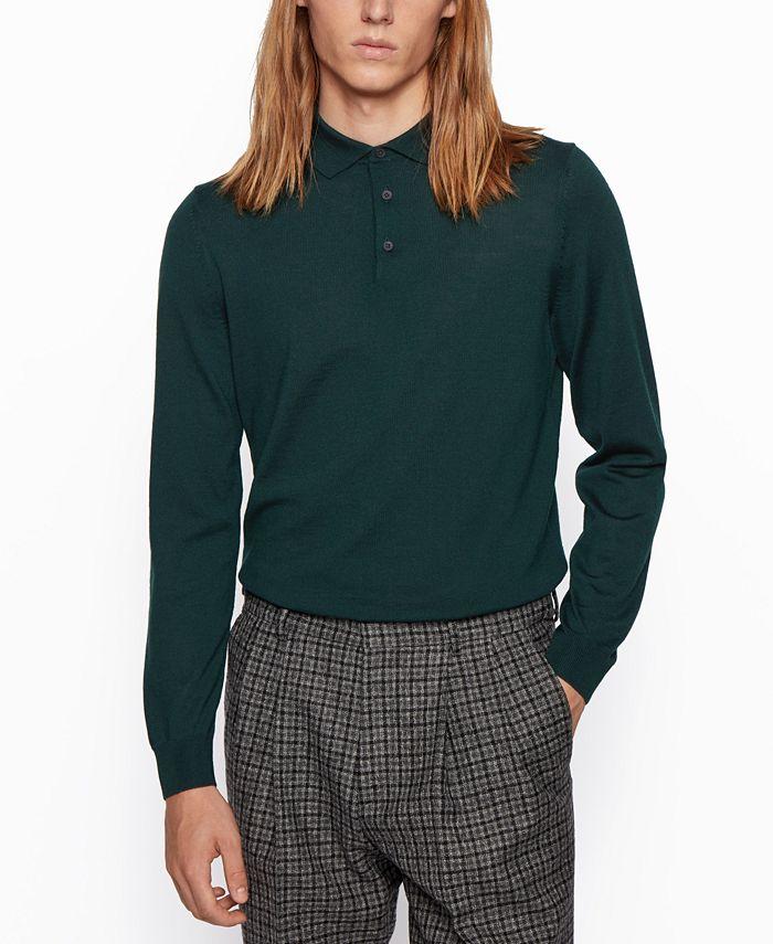 Hugo Boss - Men's Bono Regular-Fit Sweater