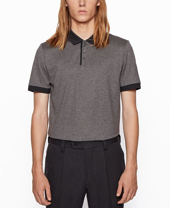 Hugo Boss BOSS Men's Piket 32 Regular-Fit Polo Shirt