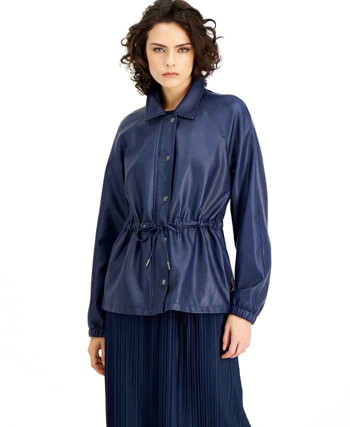 Alfani - Drawstring-Waist Jacket