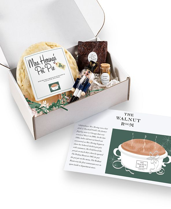Love, Mary The Walnut Room Experience - Macy's Collection Deluxe Mrs. Hering's Walnut Room Chicken Pot Pie Box