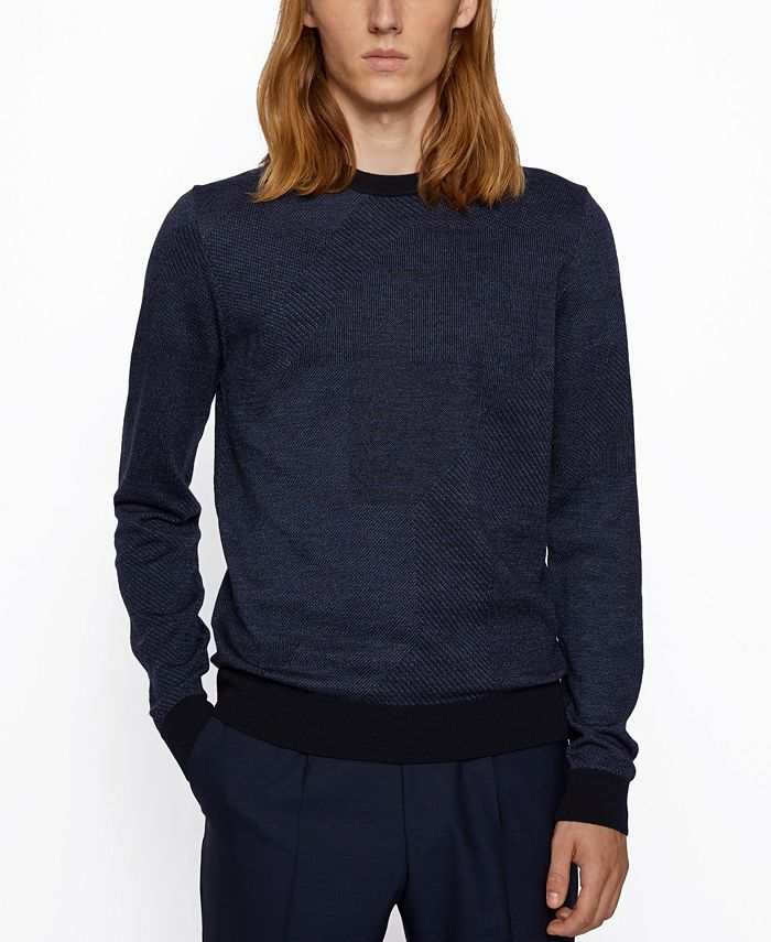 Hugo Boss - Men's Maurillo Regular-Fit Sweater