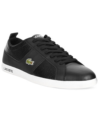 Lacoste Carnaby Evo Men's Tennis Shoes White: Hit the country club or the street in the premium style and quality of the Lacoste Carnaby EVO. Soft leather wraps around the food for comfortable security.