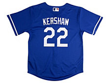 Nike Los Angeles Dodgers Clayton Kershaw Baby Official Player Jersey