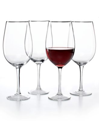 CLOSEOUT! The Cellar Glassware, Set of 4 Premium Grand Cru Glasses
