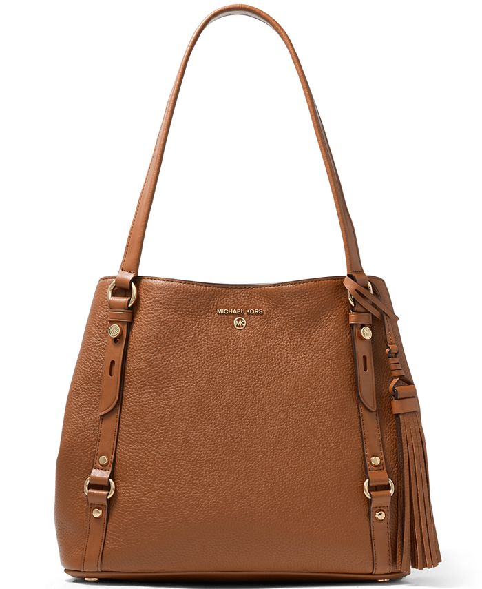 Michael Kors - Carrie Large Leather Shoulder Tote