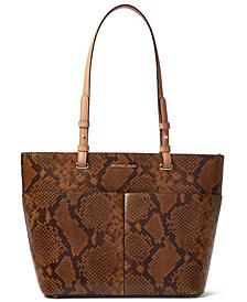Michael Michael Kors Bedford Medium Leather Pocket Tote