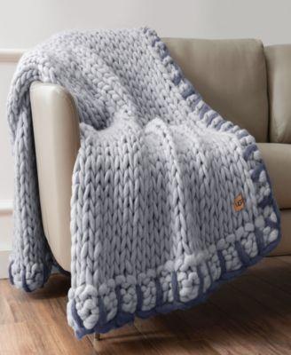 UGG® Calla Chunky Knit Throw \u0026 Reviews