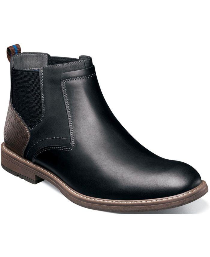 Nunn Bush Men's Fuse Plain-Toe Chelsea Boots & Reviews - All Men's Shoes - Men - Macy's