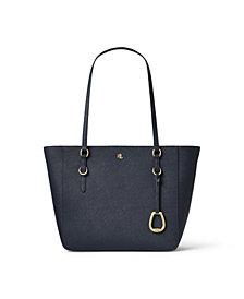 Lauren Ralph Lauren Leather Medium Shopper