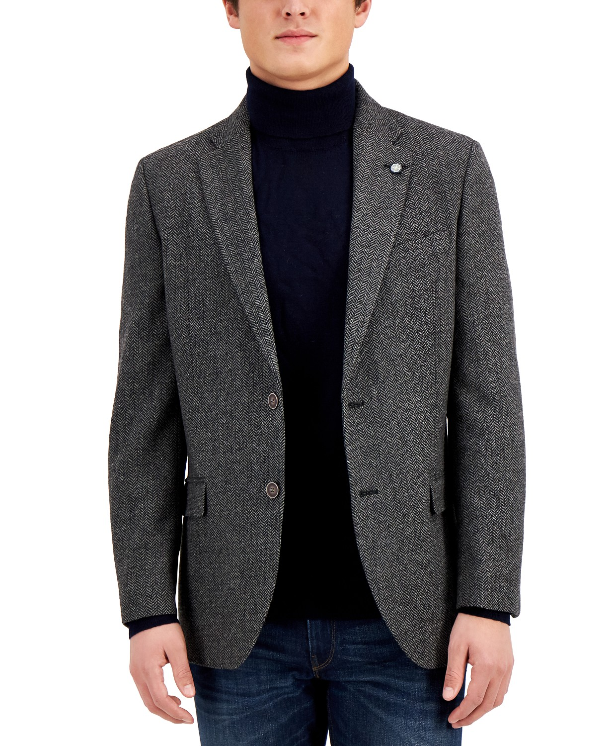 Nautica Mens Modern-Fit Wool Blazer $49.99 (83% off)