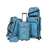 Tag Ridgefield 5-Piece Softside Luggage Set (Paisley)