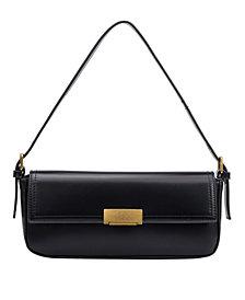 Melie Bianco Claire Small Vegan Leather Shoulder Bag