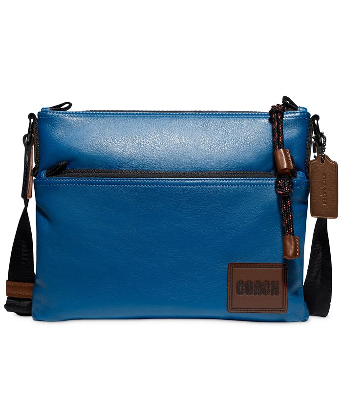 COACH - Men's Pacer Leather Crossbody Bag