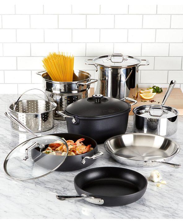 All-Clad Mixed Materials 12-Pc. Cookware Set