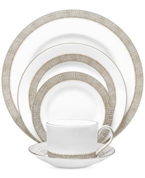 Vera Wang Wedgwood Gilded Weave Platinum 5 Piece Place Setting