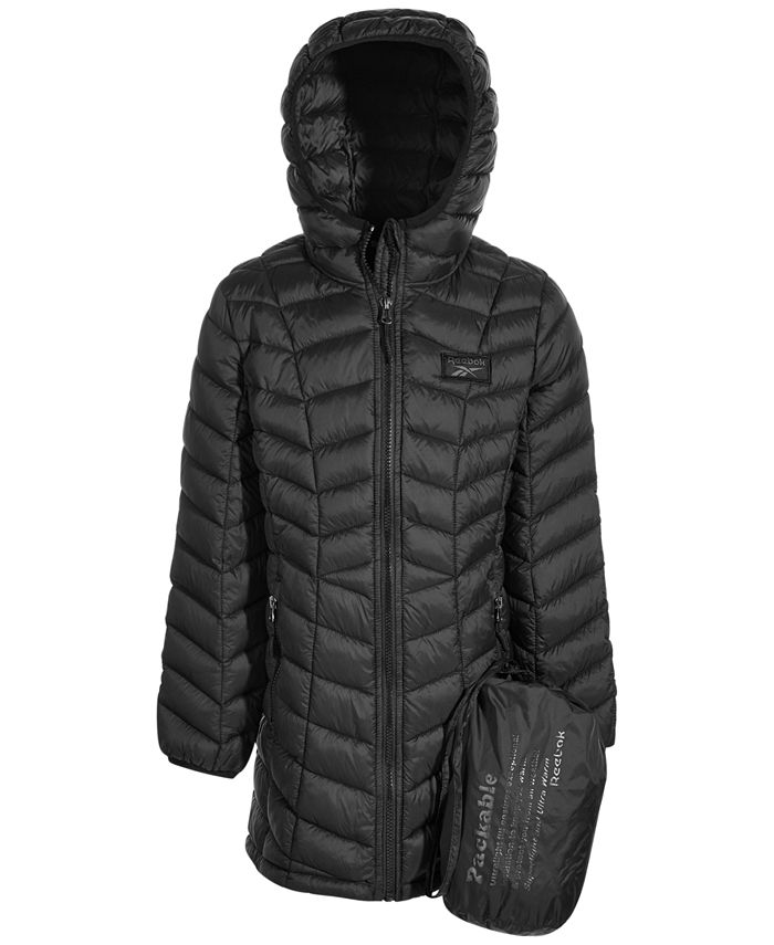 Reebok - Big Girls Packable Quilted Jacket