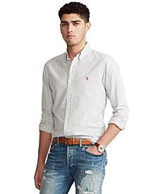 Polo Ralph Lauren Men's Classic-Fit Gingham Oxford Shirt
