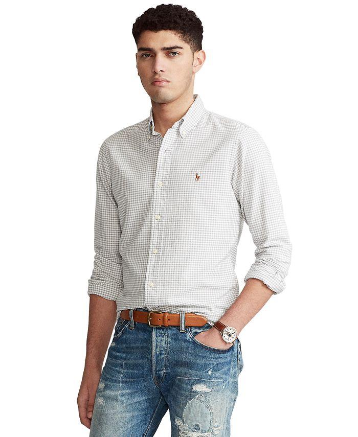Polo Ralph Lauren - Men's Classic-Fit Tattersall Oxford Shirt