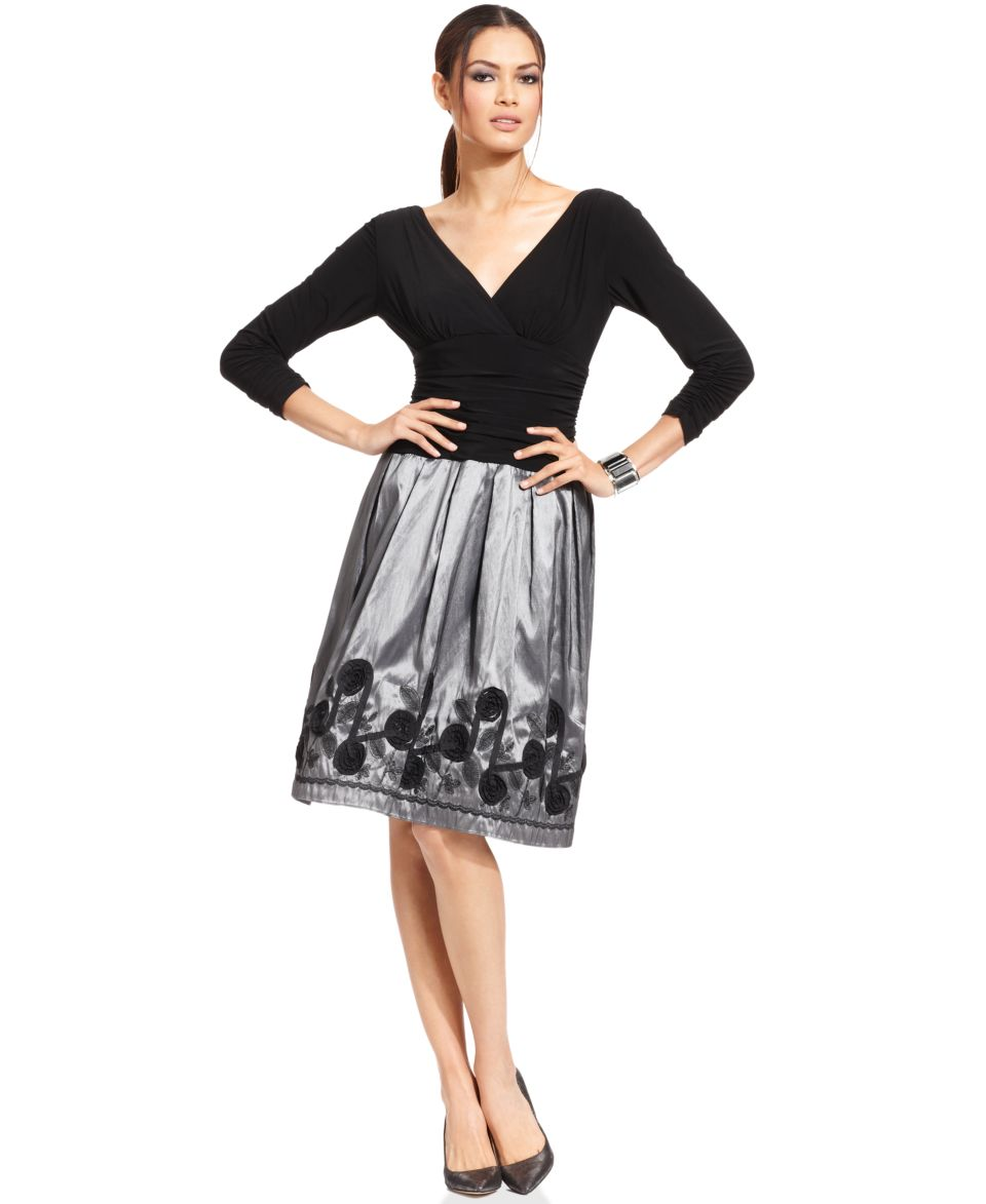 Jessica Howard Lace Empire Waist Dress   Dresses   Women