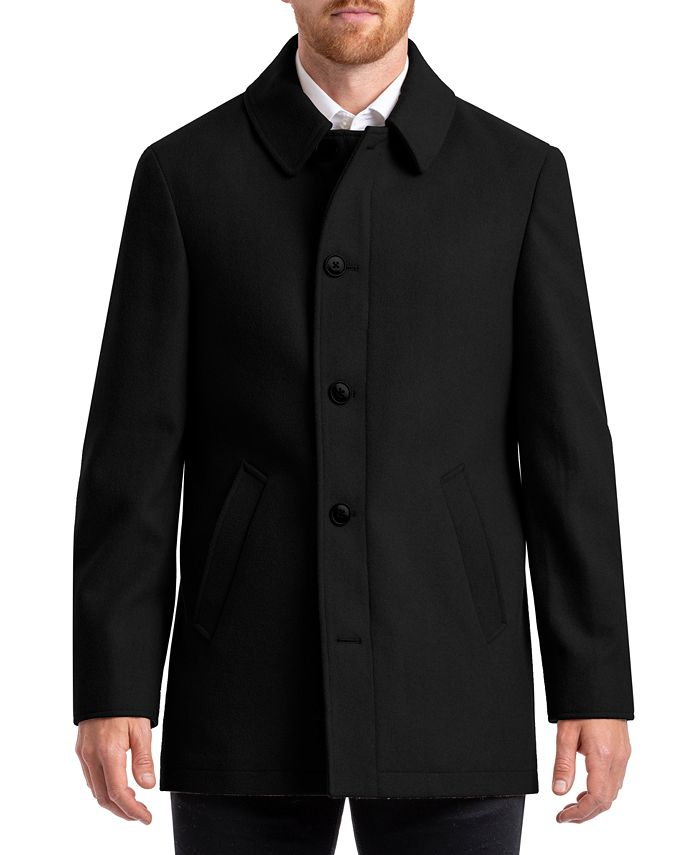 Chaps - Classic Single Breasted Overcoat