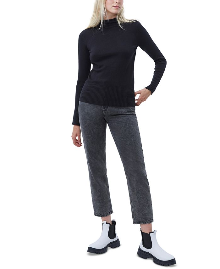 French Connection - Mock-Neck Knit Sweater