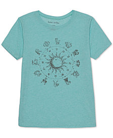 Love Tribe Juniors' Zodiac Graphic T-Shirt