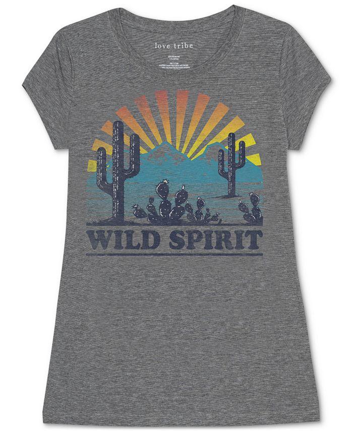 Love Tribe - Wild Spirit Graphic T-Shirt