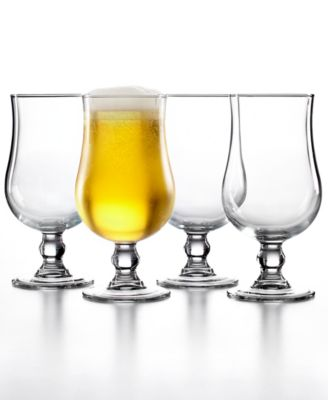 The Cellar Everyday Set of 4 Stemmed Beer Glasses