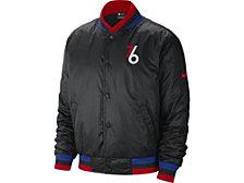 Nike Philadelphia 76ers Men's City Edition Courtside Sublimated Jacket