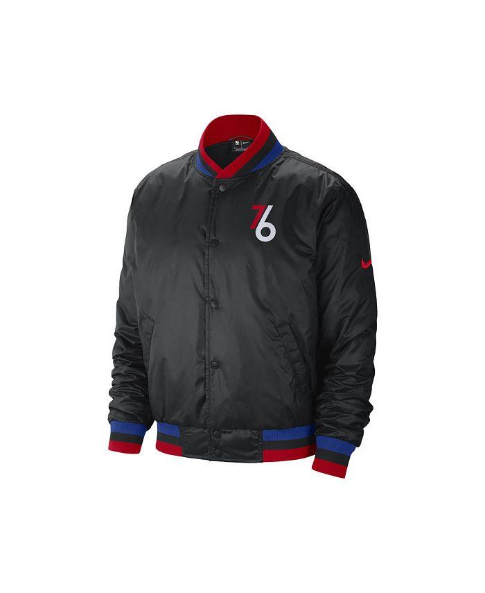 Nike - Philadelphia 76ers Men's City Edition Courtside Sublimated Jacket