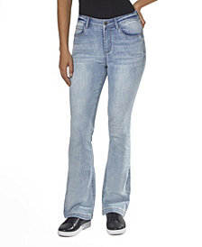 """Juniors' High Rise """"Lift Your Assets"""" Flare Jeans"""