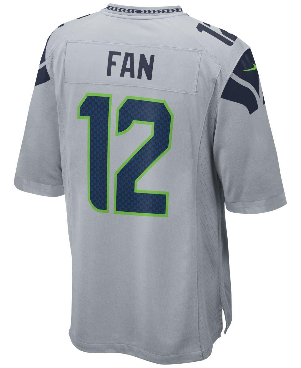 Nike Mens Twelfth Man Seattle Seahawks Game Jersey Sports Fan Shop By Lids  Men 9c385a46a